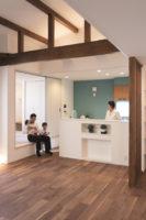 家事が楽で子どもにも安全なキッチン設計の家(名古屋市西区)
