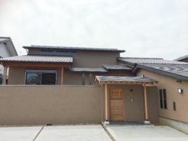 鶴の屋根の家 エレガントな和風住宅 愛知県豊橋市