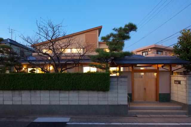 愛知県名古屋市にある親の住宅