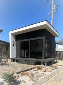 名古屋市のモダンスタイル新築カフェ画像